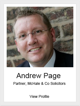 Andrew Page, McHale & Co Solicitors